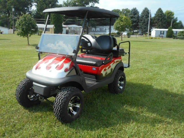 2008 Club Car Lifted Golf Cart 4 Passenger Precedent