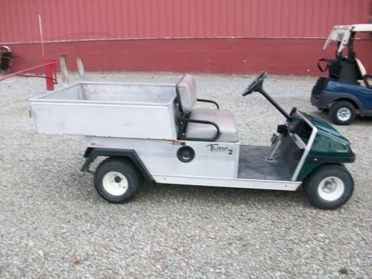 2008 Club Car Utility Dump Cart Turf 2 with Power Dump - Acme, PA