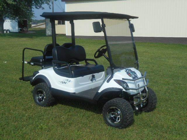 2008 Yamaha Lifted Golf Cart 4 Passenger