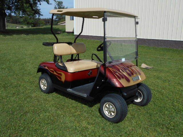 2010 EZ-GO Custom Golf Cart TXT with Large Engine