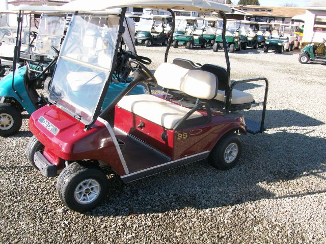 2003 Club Car DS 4 Passenger Red Gas Golf Cart