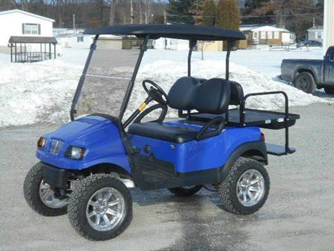 2012 Club Car Lifted Golf Cart 4 Passenger With Phantom Body
