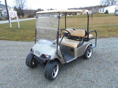 2010 EZ-GO Custom Golf Cart TXT 4 Passenger