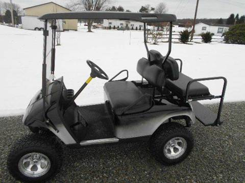 """2007 EZ-GO Lifted Golf Cart 4 Passenger """"GAS"""""""