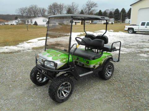 2011 EZ-GO Golf Cart with Big Block Engine! Lifted 4 Passenger