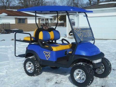 2008 Club Car Lifted Golf Cart WVU Themed !!!!