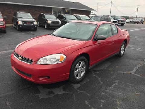 Amazing 2007 Chevrolet Monte Carlo For Sale In Taylorville, IL