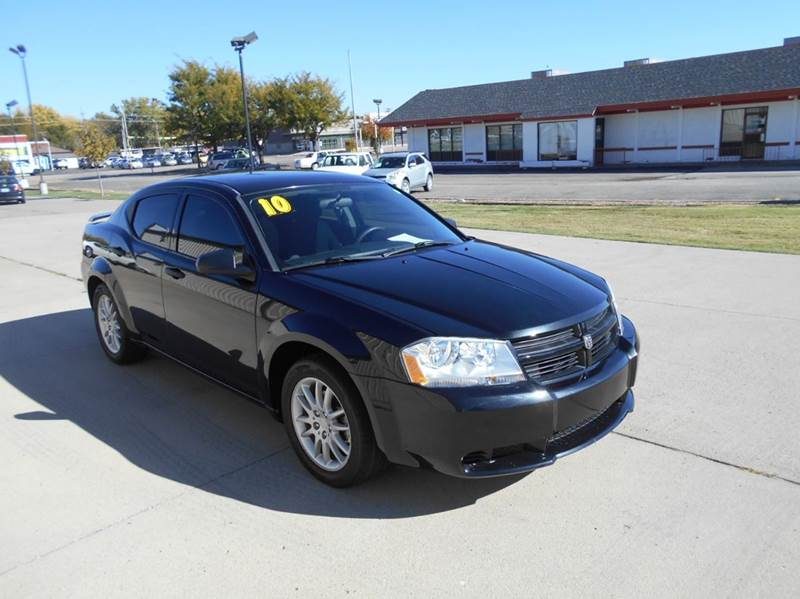 2010 dodge avenger sxt 4dr sedan in salina ks salina. Black Bedroom Furniture Sets. Home Design Ideas
