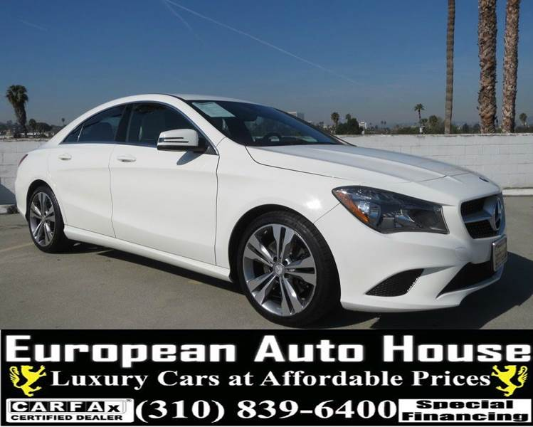 2014 mercedes benz cla cla 250 4dr sedan in los angeles ca for Mercedes benz service los angeles