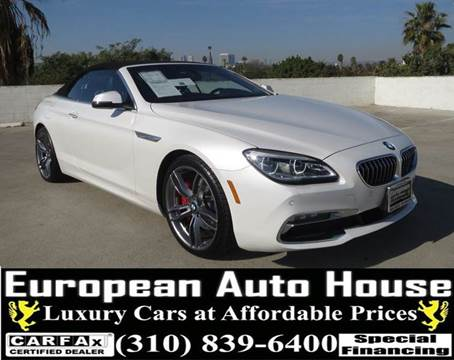 2016 BMW 6 Series for sale in Los Angeles, CA
