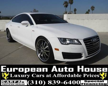 2013 Audi A7 for sale in Los Angeles, CA