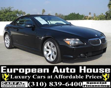 2005 BMW 6 Series for sale in Los Angeles, CA