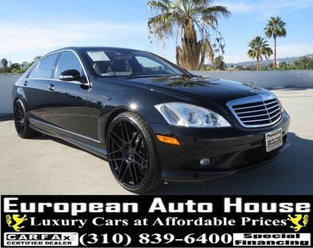 2008 Mercedes-Benz S-Class for sale in Los Angeles, CA