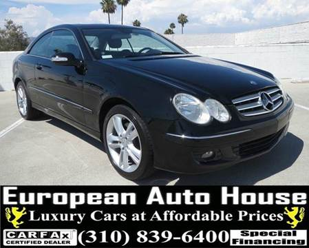2007 Mercedes-Benz CLK for sale in Los Angeles, CA