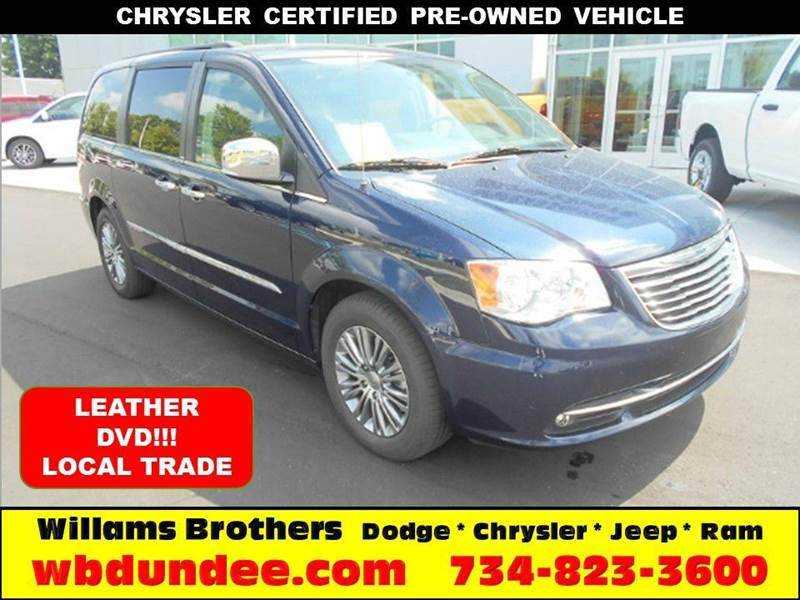2014 CHRYSLER TOWN AND COUNTRY TOURING-L 4DR MINI VAN blue another great chrysler certified pre-ow