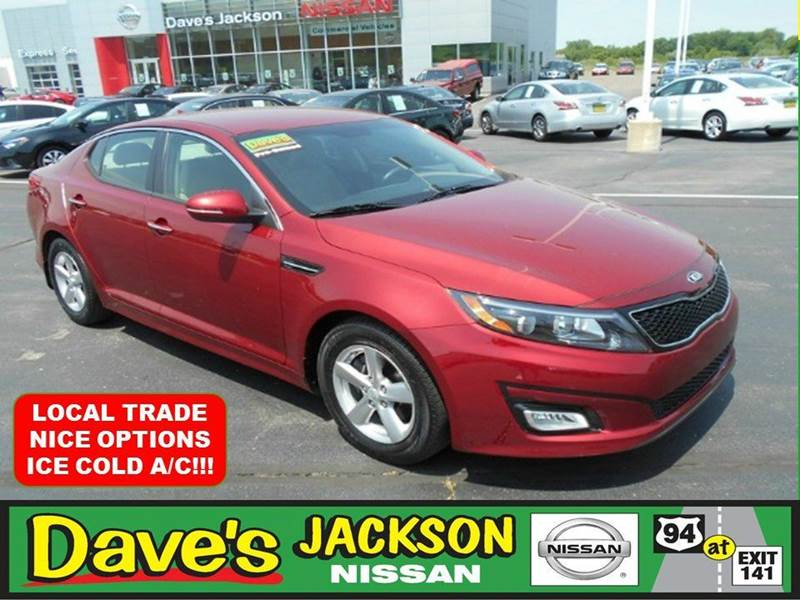 2014 KIA OPTIMA LX 4DR SEDAN red 3000 push pull or drag reflected in the price listed  your t