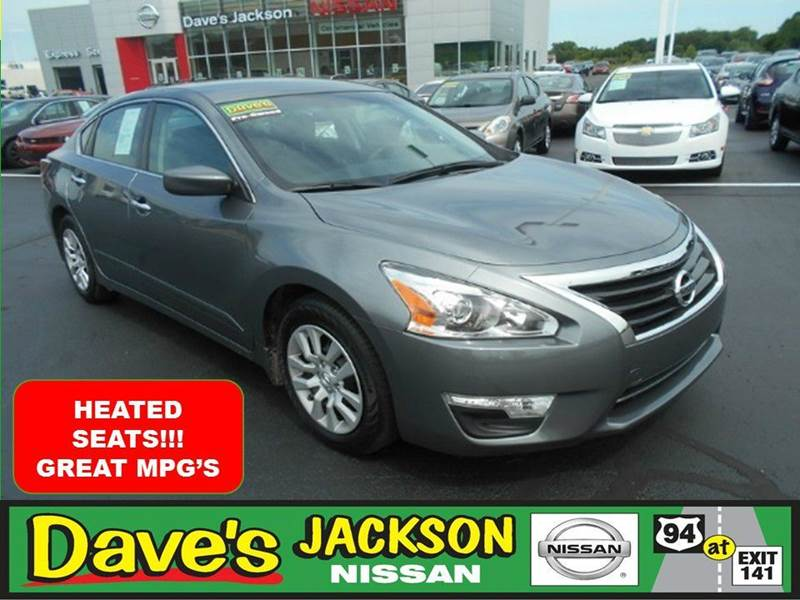 2015 NISSAN ALTIMA 25 S 4DR SEDAN gray 3000 push pull or drag reflected in the price listed