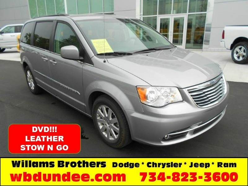 2015 CHRYSLER TOWN AND COUNTRY TOURING 4DR MINI VAN silver another great chrysler certified pre-o
