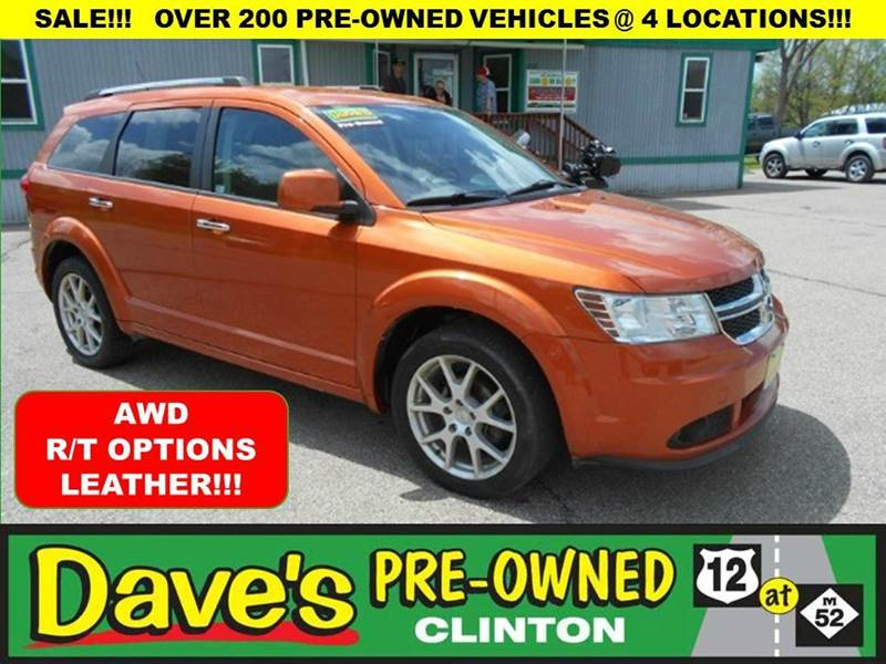 2011 DODGE JOURNEY RT orange 3000 min for your trade is back  for the month of july only