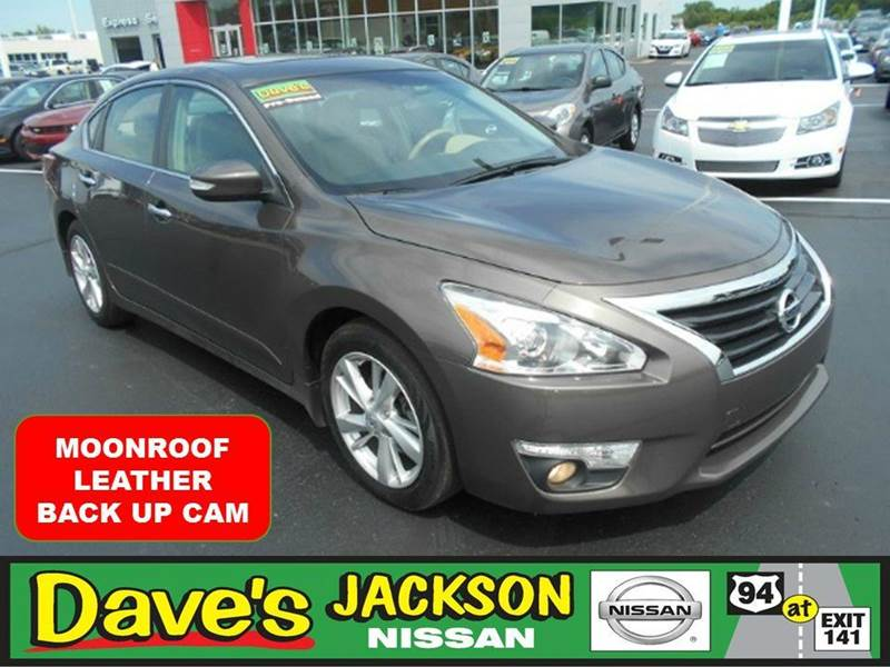 2013 NISSAN ALTIMA 25 SL 4DR SEDAN tan 3000 push pull or drag reflected in the price listed