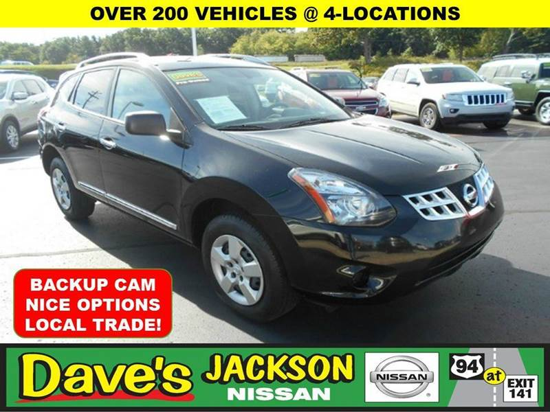 2014 NISSAN ROGUE SELECT S 4DR CROSSOVER black 3000 push pull or drag reflected in the price lis