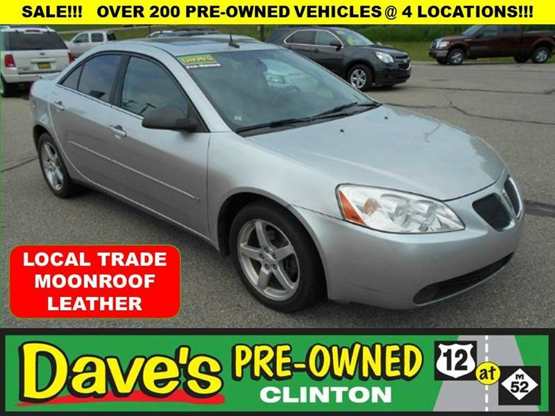 2008 PONTIAC G6 BASE 4DR SEDAN silver 3000 min for your trade is back  for the month of july