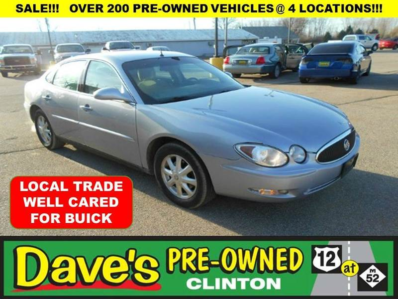 2005 BUICK LACROSSE CX 4DR SEDAN blue 1st time buyer programglittle or no down payment  charit
