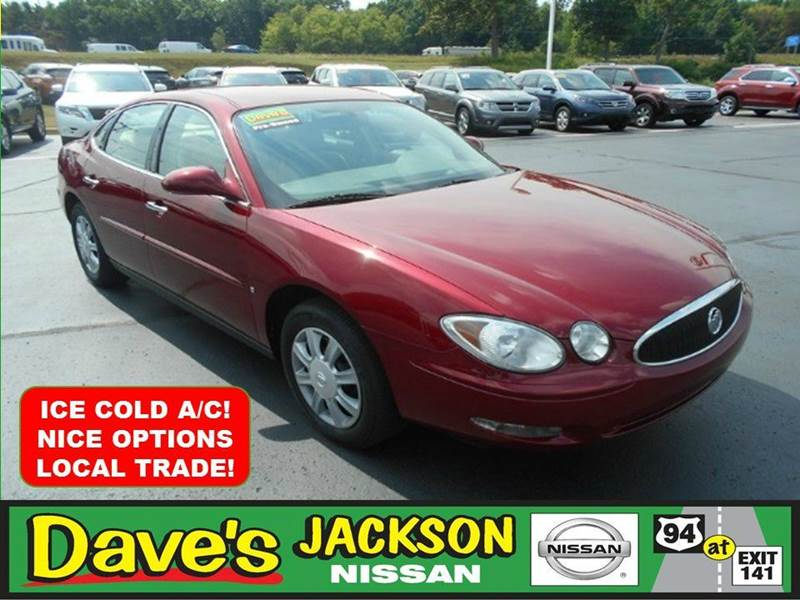 2007 BUICK LACROSSE CX 4DR SEDAN red 3000 push pull or drag reflected in the price listed  y