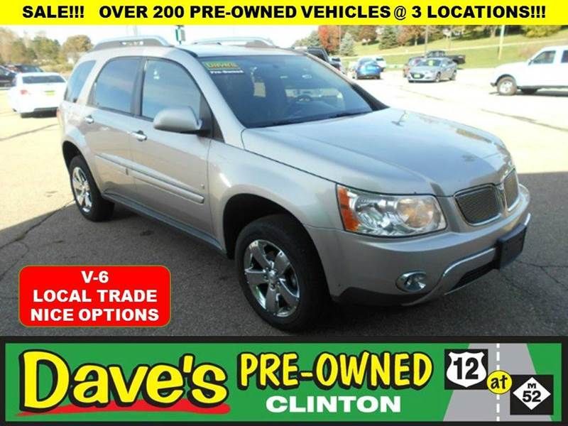 2008 PONTIAC TORRENT BASE 4DR SUV silver local trade pontiac    come on in and make the boss an