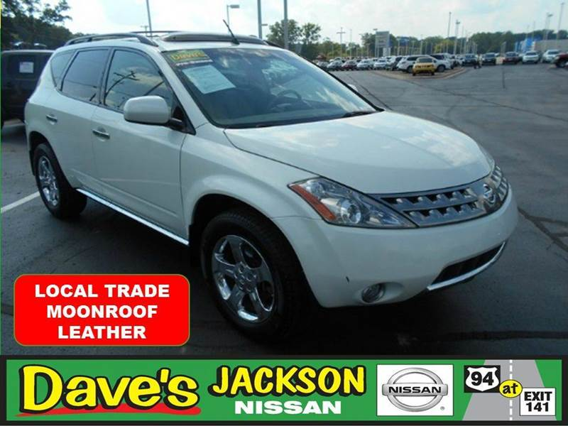 2007 NISSAN MURANO SL AWD 4DR SUV white 3000 push pull or drag reflected in the price listed