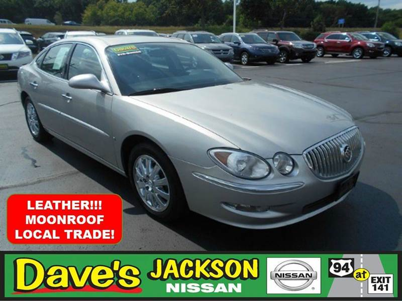 2008 BUICK LACROSSE CXL 4DR SEDAN silver 3000 push pull or drag reflected in the price listed