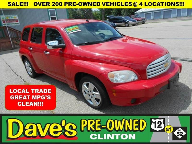 2009 CHEVROLET HHR LS 4DR WAGON red 3000 min for your trade is back for the month of july onl