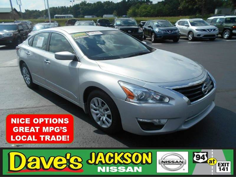 2014 NISSAN ALTIMA 25 S 4DR SEDAN silver 3000 push pull or drag reflected in the price listed