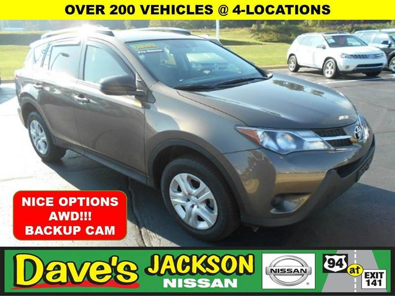 2013 TOYOTA RAV4 LE AWD 4DR SUV lt green 3000 push pull or drag reflected in the price listed