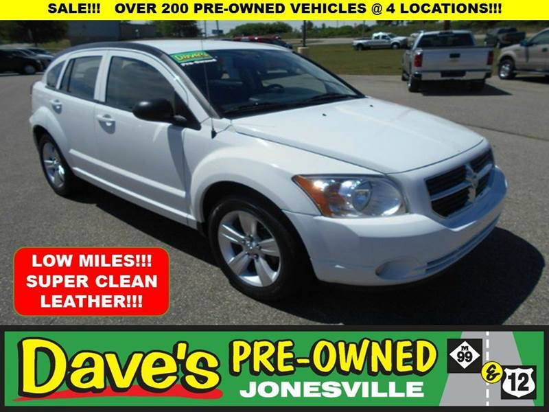 2011 DODGE CALIBER UPTOWN 4DR WAGON white 0 reported accidents and only 1 owner  loaded calibe