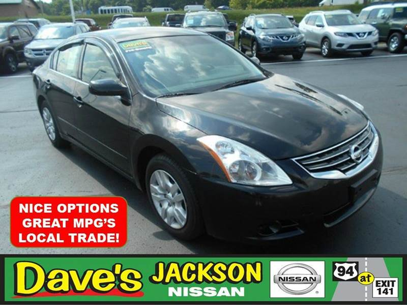 2012 NISSAN ALTIMA 25 S 4DR SEDAN black 3000 push pull or drag reflected in the price listed
