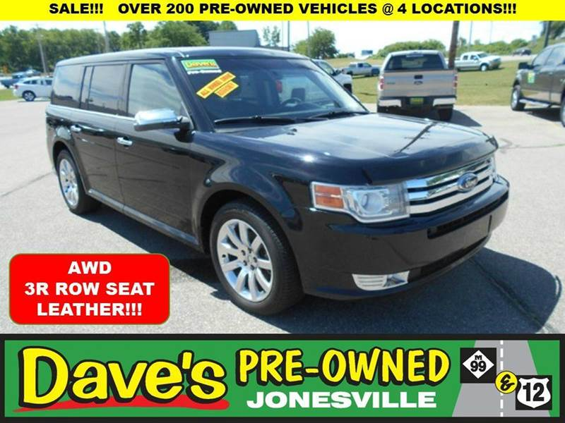 2009 FORD FLEX LIMITED AWD CROSSOVER 4DR black 0 reported accidents on this limited ford flex  a