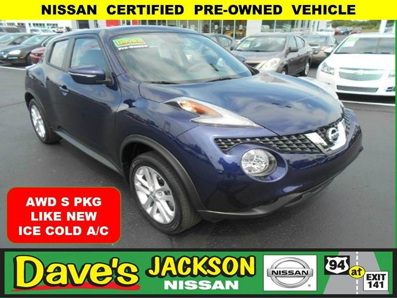 2015 NISSAN JUKE S AWD 4DR CROSSOVER 3000 push pull or drag reflected in the price listed  you