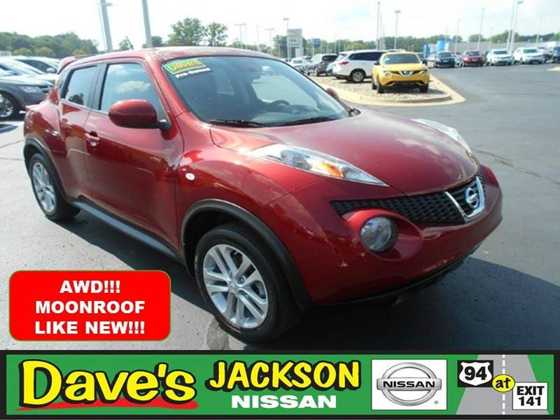 2013 NISSAN JUKE SV AWD 4DR CROSSOVER red 3000 push pull or drag reflected in the price listed