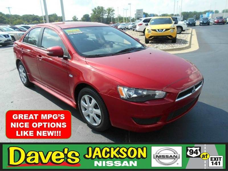 2015 MITSUBISHI LANCER ES 4DR SEDAN CVT red 3000 push pull or drag reflected in the price listed
