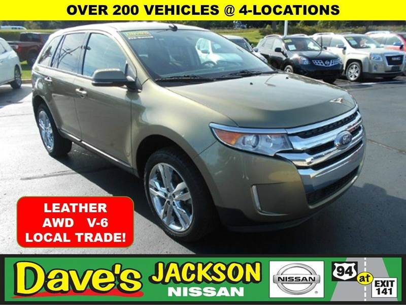 2013 FORD EDGE SEL AWD 4DR SUV ginger 3000 push pull or drag reflected in the price listed  y