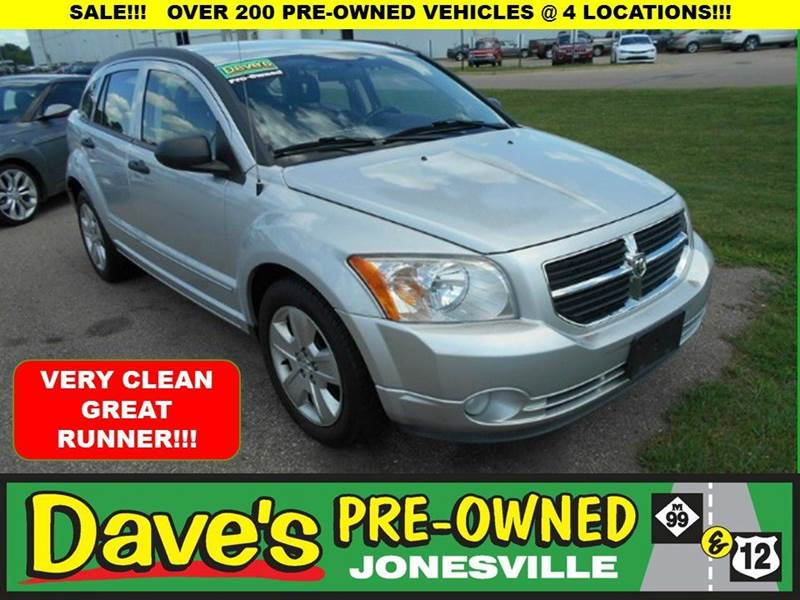 2008 DODGE CALIBER SXT 4DR WAGON silver 0 reported accidents and only 1 owner  clean great ru