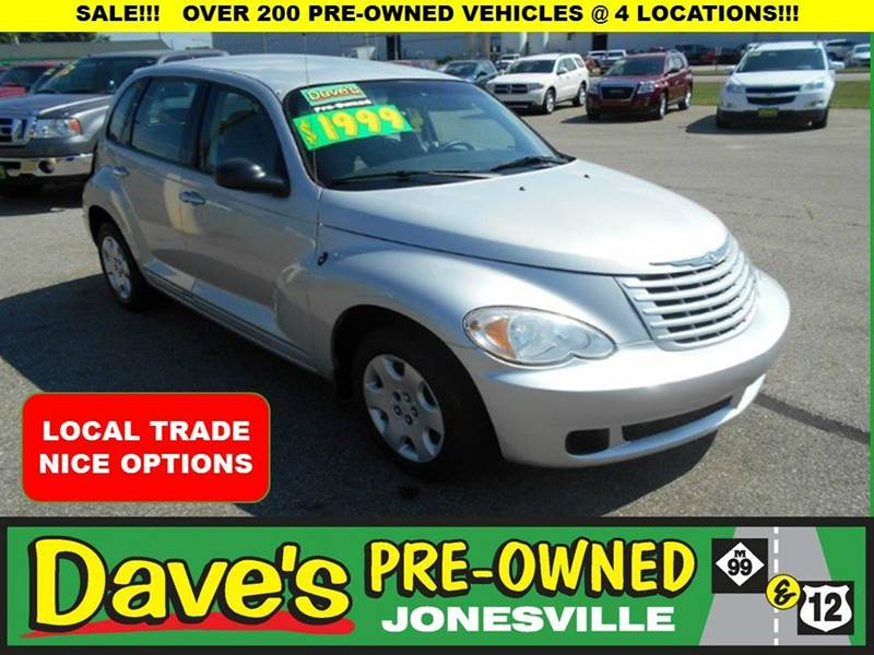 2008 CHRYSLER PT CRUISER BASE 4DR WAGON silver local trade  runs and drivescall for details