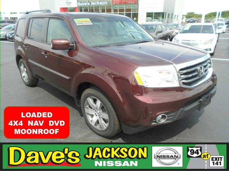 2013 HONDA PILOT TOURING 4X4 4DR SUV maroon 3000 push pull or drag reflected in the price liste