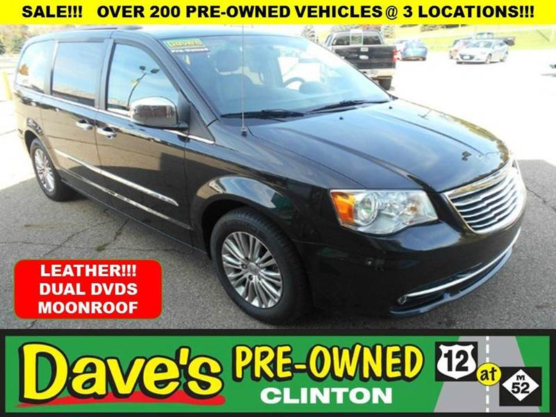 2014 CHRYSLER TOWN AND COUNTRY TOURING-L 4DR MINI VAN black price includes  3000 push pull or d