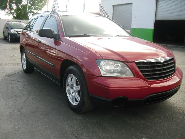 2006 CHRYSLER PACIFICA BASE 4DR WAGON red great family vehicle with rear entertainment leather i