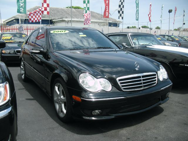 2007 MERCEDES-BENZ C-CLASS C230 SPORT 4DR SEDAN black perfect condition call us to schedule y