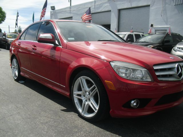 2008 MERCEDES-BENZ C-CLASS C300 SPORT 4DR SEDAN red must see call us to schedule your test driv