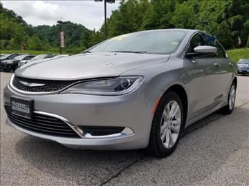 2016 Chrysler 200 for sale in Logan, WV
