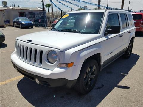 Jeep patriot for sale el paso tx for Rainbow motors el paso tx